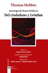 Del ciudadano y Leviathan. Antología de textos políticos