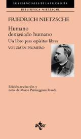 Humano, demasiado humano. Un libro para espíritus libres. Volumen - Nietzsche, Friedrich