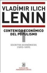 Escritos económicos (1893-1899) 1. Contenido económico del populi