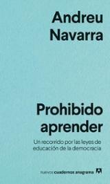 Prohibido aprender - Navarra, Andreu