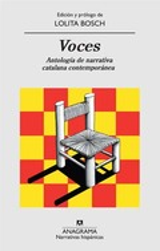 Voces. Antología de narrativa catalana contemporánea