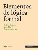 Elementos de lógica formal (2ª) - Badesa, Calixto