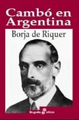 Cambó en Argentina