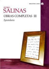 Obras completas, vol.3: Epistolario