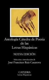 Antología Cátedra de Poesía de las Letras Hispánicas (2016) -