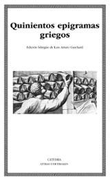 Quinientos epigramas griegos - VV.AA.