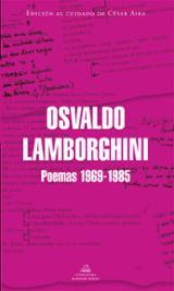 Poemas, 1969-1985 - Lamborghini, Osvaldo
