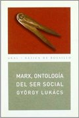 Marx, ontología del ser social - Lukács, György
