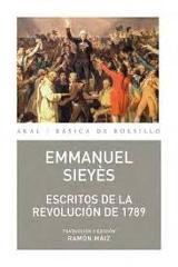 Escritos de la Revolución de 1789 - Sieyès, Emmanuel