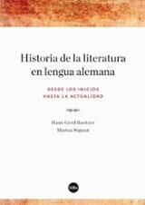 Historia de la literatura en lengua alemana