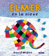 Elmer en la nieve