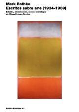 Escritos sobre arte (1934-1969) - Rothko, Mark