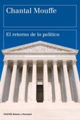 El retorno de lo político - Mouffe, Chantal