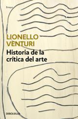 Historia de la crítica del arte - Venturi, Lionello