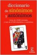 Diccionario de sinónimos y antónimos. Mini