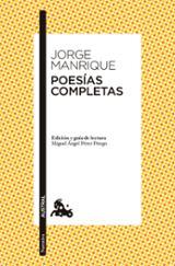Poesías completas - Manrique, Jorge