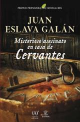 Misterioso asesinato en casa de Cervantes Premio Primavera 2015