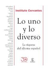 Lo uno y lo diverso - Instituto Cervantes