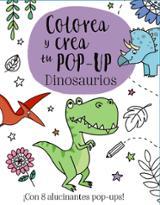 Colorea y crea tu Pop-up- Dinosaurios