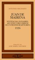 Juan de Mairena (1936) : sentencias, donaries apuntes y recu