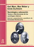 Sociología y educación. Textos e intervenciones de los sociólogos