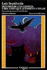 Historia de una gaviota y del gato que le enseño a volar