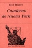 Cuaderno de Nueva York - Hierro, José