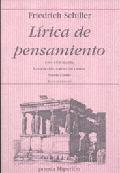 Lírica de pensamiento - Schiller, Friedrich