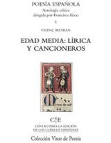 Edad media: lírica y cancioneros - Beltran, Vicenç
