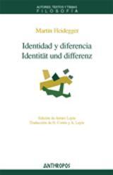 Identidad y Diferencia/Identität und Differenz