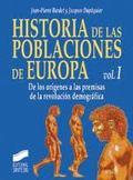 Historia de las poblaciones de Europa T.1. De los orígenes a las