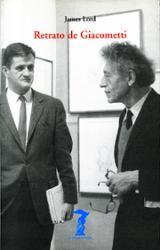 Retrato de Giacometti - Lord, James