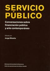 Servicio público, conversaciones sobre financiación pública y art