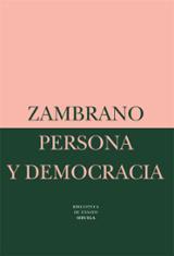 Persona y democracia: la historia sacrificial