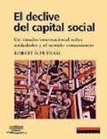 El declive del capital social - Putnam, Robert D. (ed)