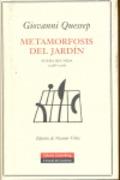 Metamorfosis del jardín - Quessep, Giovanni