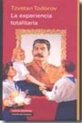 La experiencia totalitaria