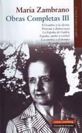 María Zambrano. Obras completas III