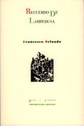 Recuerdo de Lampedusa - Orlando, Francesco