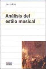 Análisis del estilo musical - LaRue, Jan
