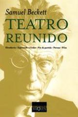 Teatro reunido - Beckett, Samuel