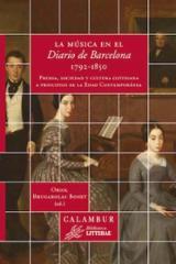 La música en el Diario de Barcelona, 1792-1850 - Brugarolas Bonet, Oriol (ed.)