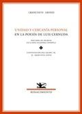 Unidad y cercanía personal en la poesía de Luis Cernuda (besai)