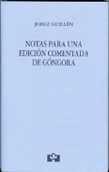 Notas para una edición comentada de Góngora