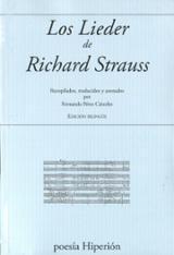 Los lieder de Richard Strauss - Strauss, Richard