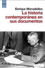 La historia contemporánea en sus documentos