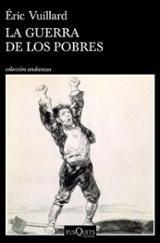 La guerra de los pobres - Vuillard, Éric