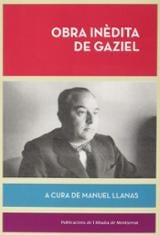 Obra inèdita - Gaziel