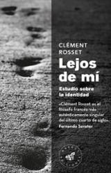 Lejos de mí - Rosset, Clement