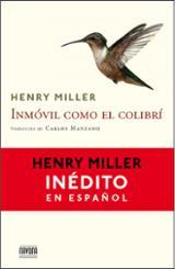 Inmóvil como el colibrí